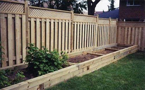 wood retaining wall design example photo 5 - Design Of Retaining Walls Examples