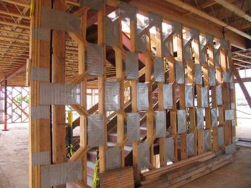 wood shear wall seismic design photo - 3