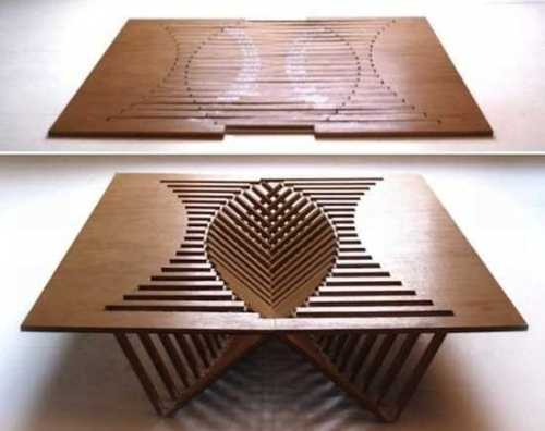 wood table design ideas pictures photo - 1