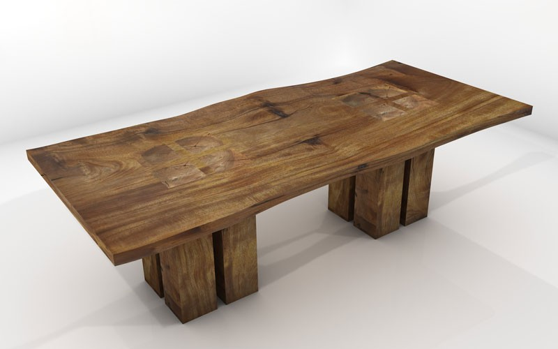 wood table designs photo - 2