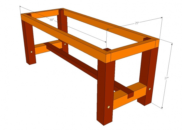 Beautiful Wood Working Bench  Woodworking Projects Plans For