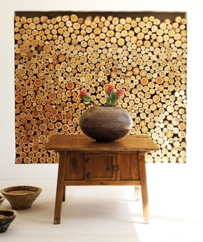 wood wall design ideas photo 2