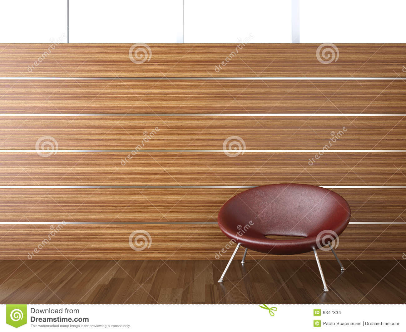 wood wall interior design photo - 5