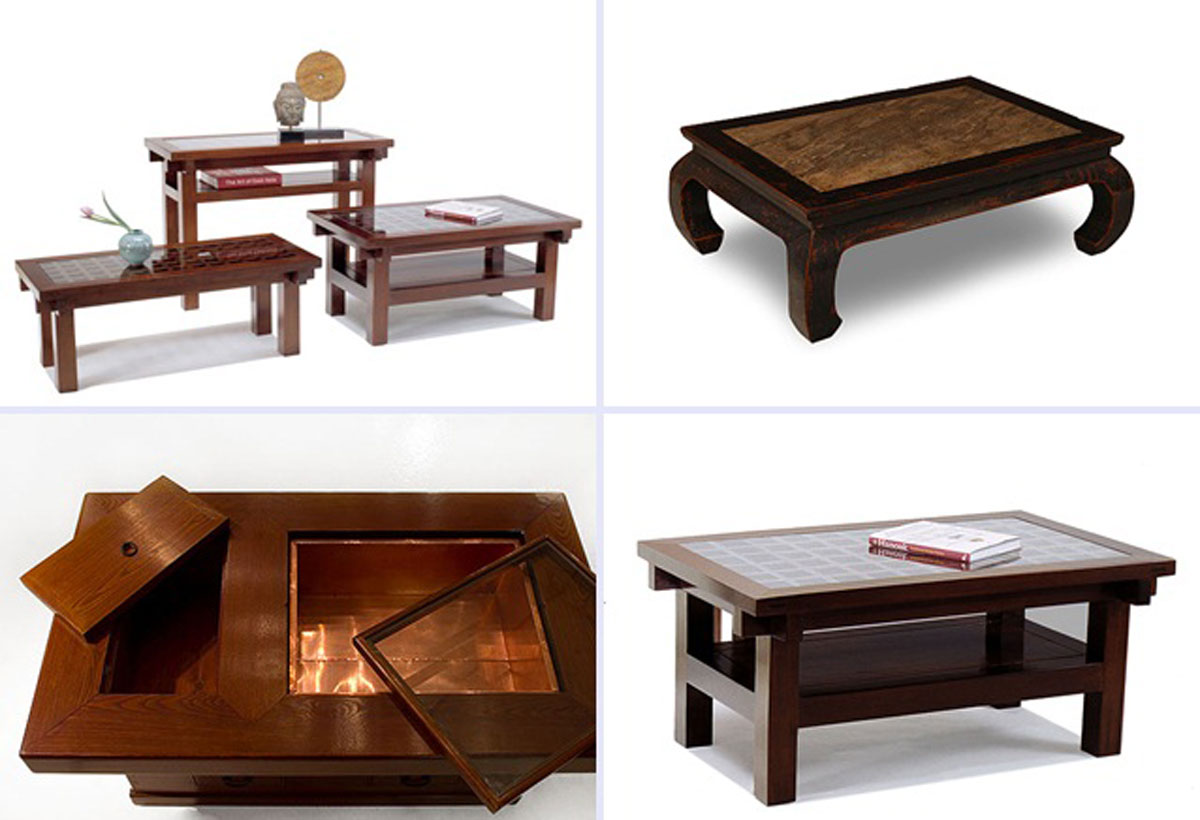 wooden coffee table designs photo - 2