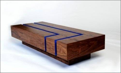 wooden coffee table designs photo - 4
