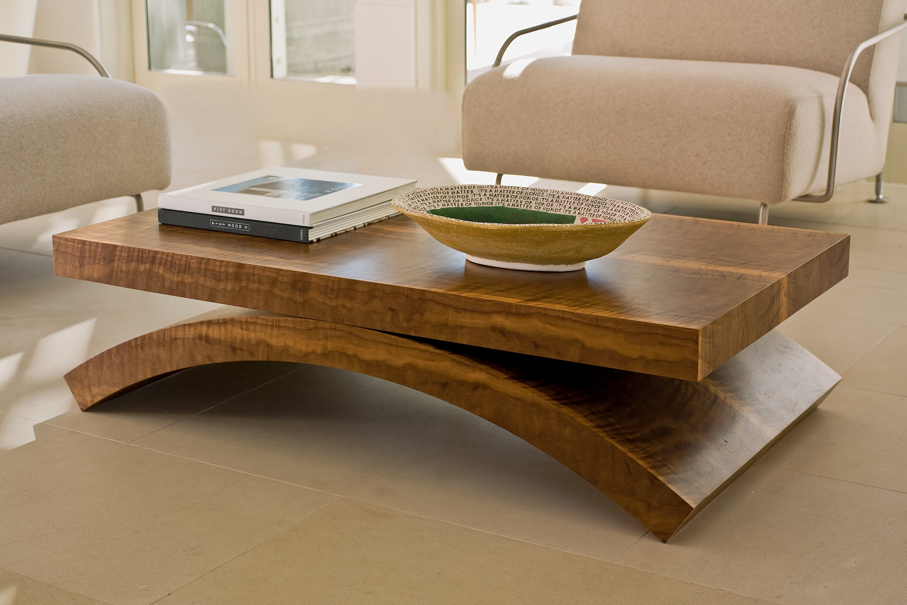 wooden coffee table designs photo - 6