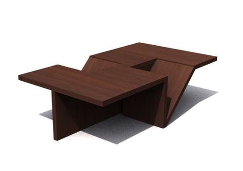 wooden tea table designs photo - 1