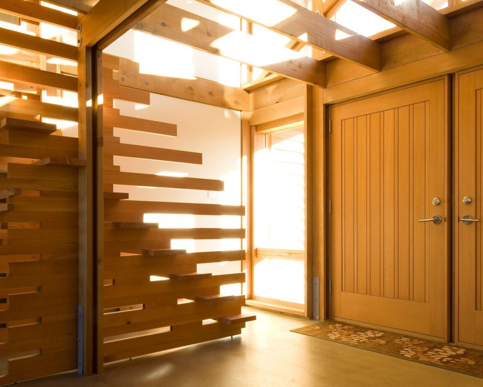 wooden wall partition designs photo - 4