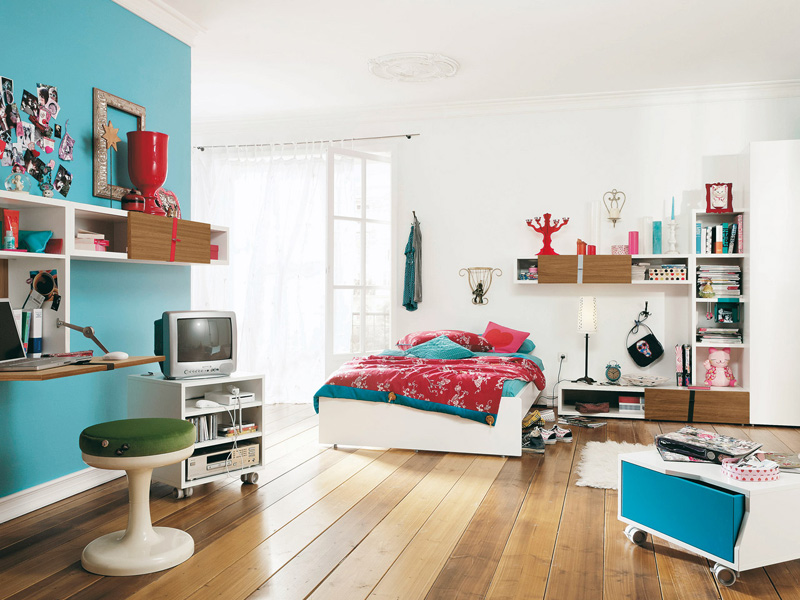 youth bedroom furniture for girls photo - 6