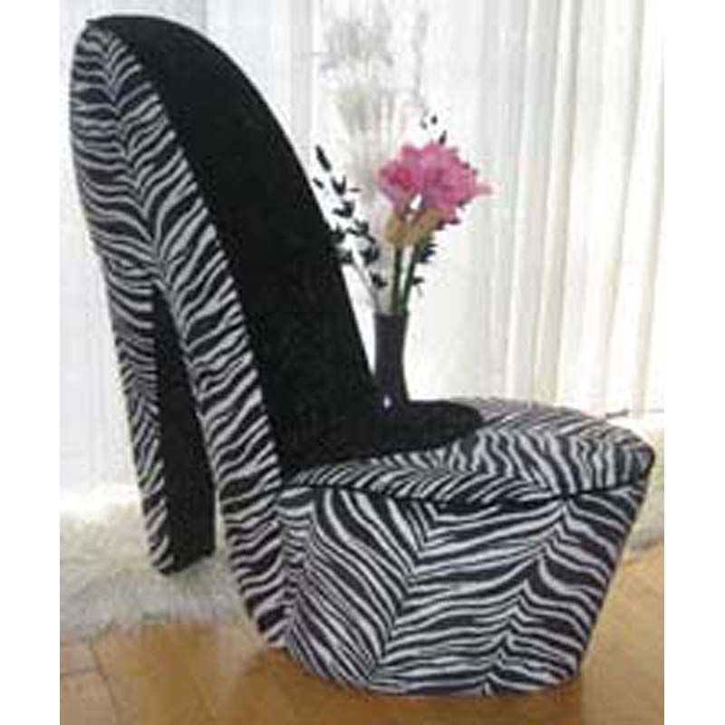 zebra kitchen chairs photo - 6