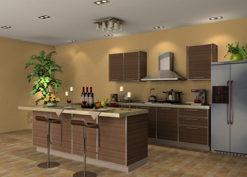 Zen style kitchen for Kitchen design zen type