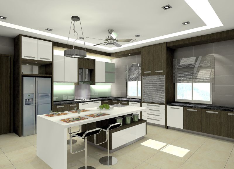 zen design kitchen cabinets photo - 3