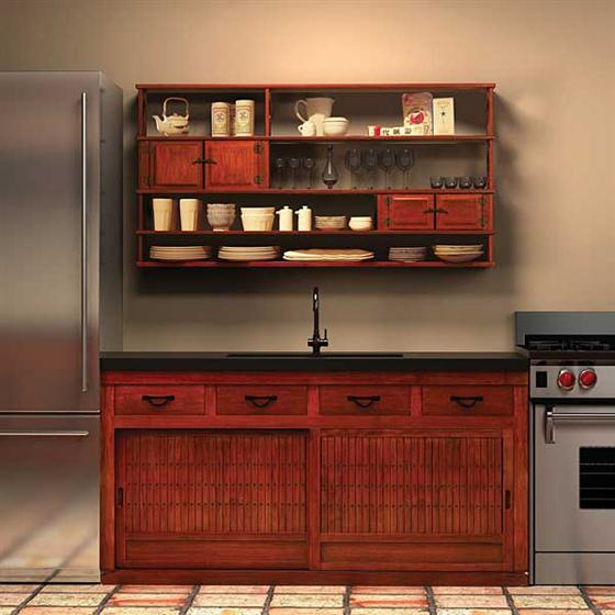 zen design kitchen cabinets photo - 5