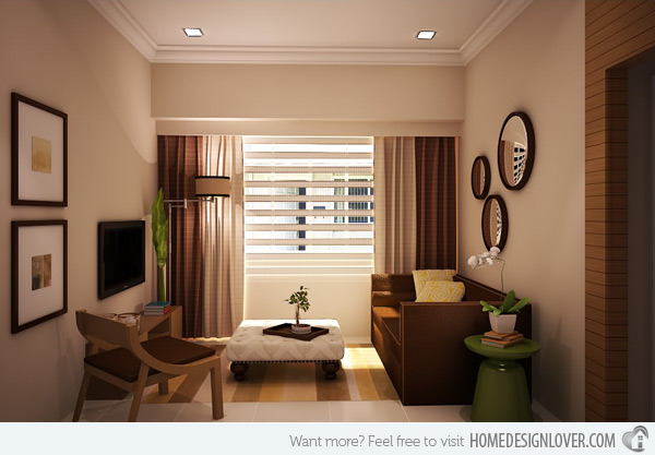 zen type living room designs photo - 2