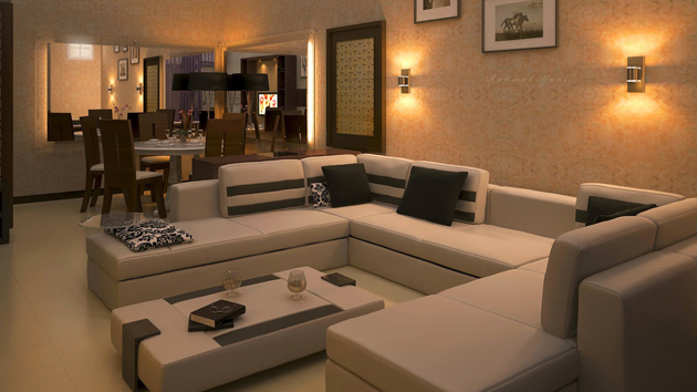 zen type living room designs photo - 3