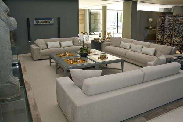 zen type living room designs photo - 5