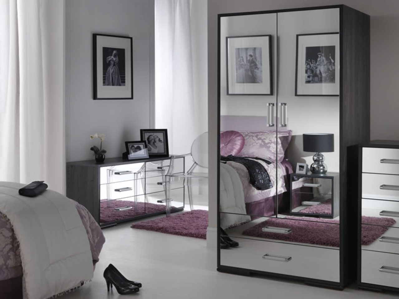 mirrored glass bedroom furniture black mirrored glass bedroom furniture make your home 16208