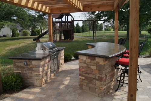 Outdoor bar grill designs - 17 reasons, why it's ... on Exterior Grill Design id=24893