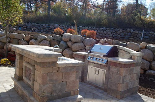 Outdoor bar grill designs - 17 reasons, why it's ... on Exterior Grill Design id=81656