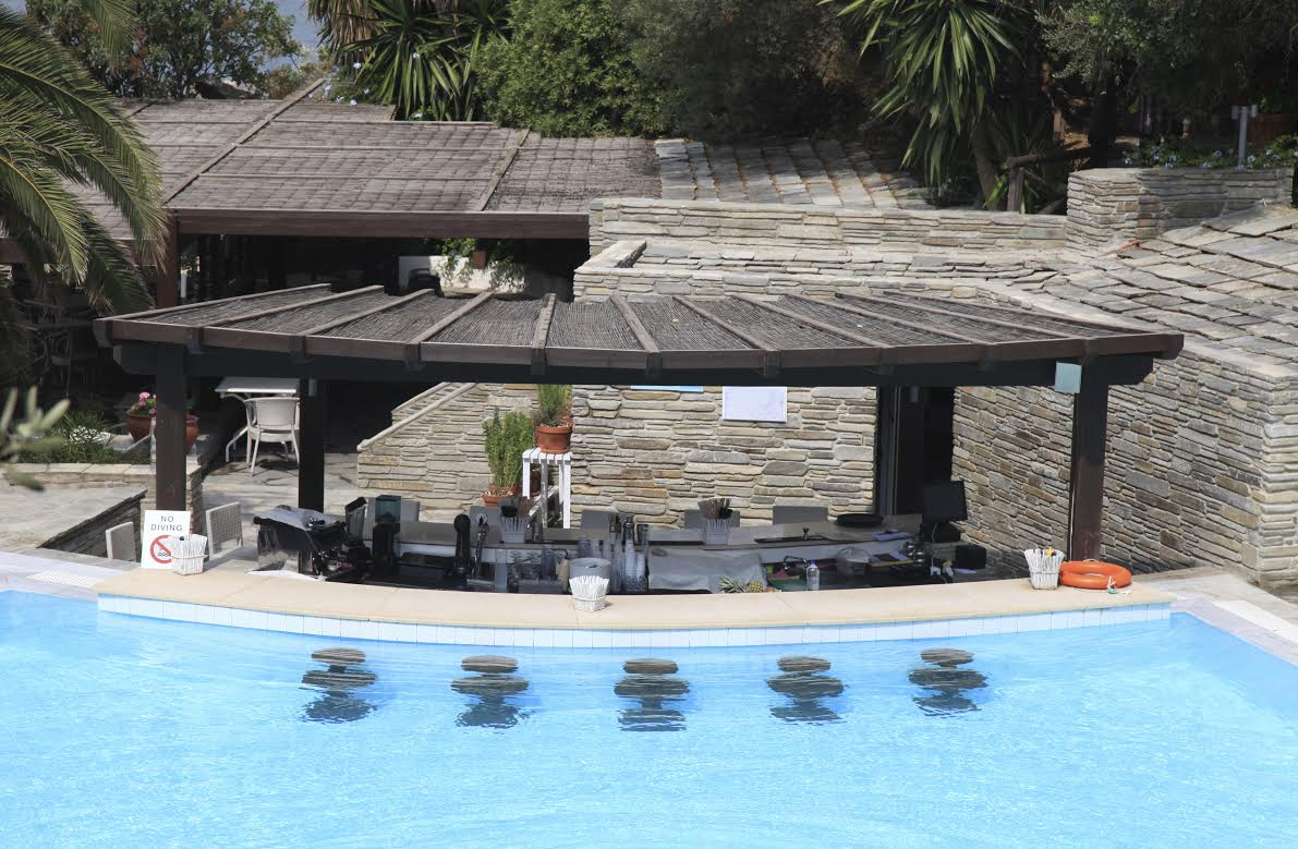 Outdoor pool and bar designs - bring out the beauty with ... on Backyard Pool Bar Designs id=16545