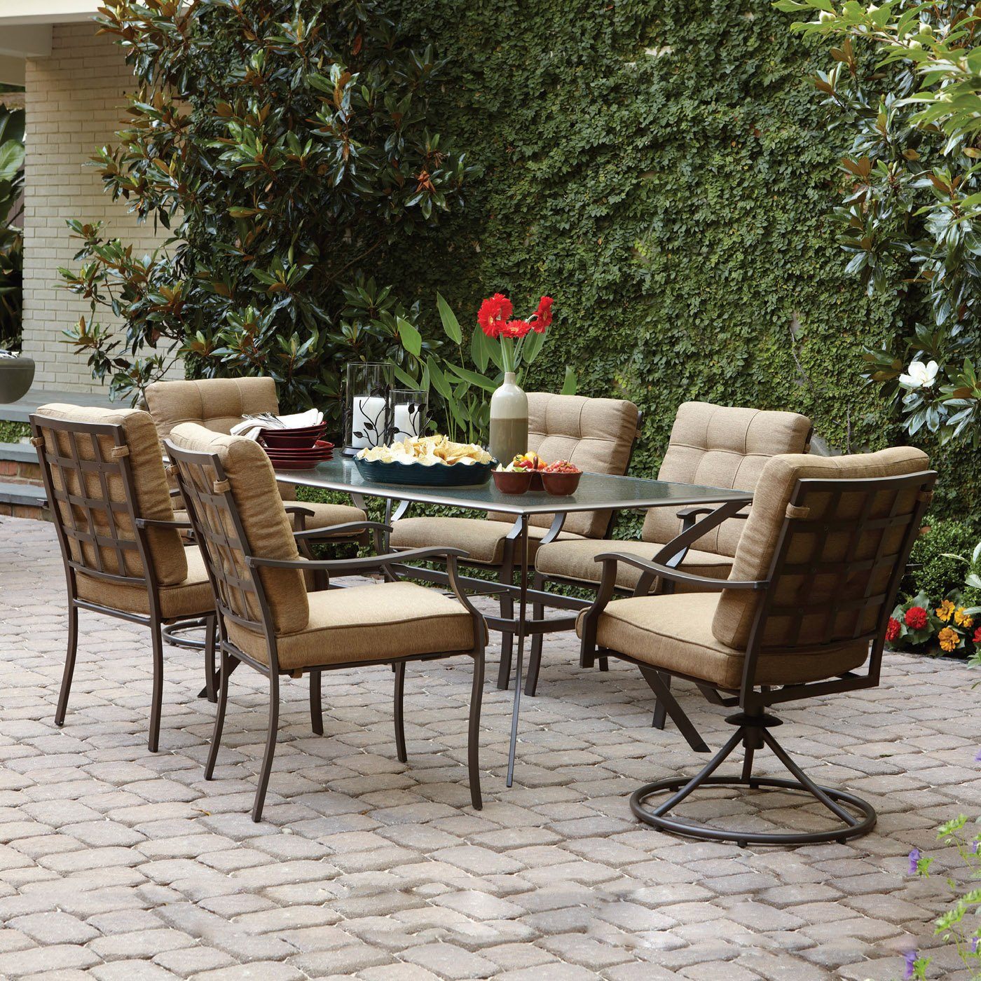 outdoor dining sets 18 special features of patio dining sets lowes interior 28856