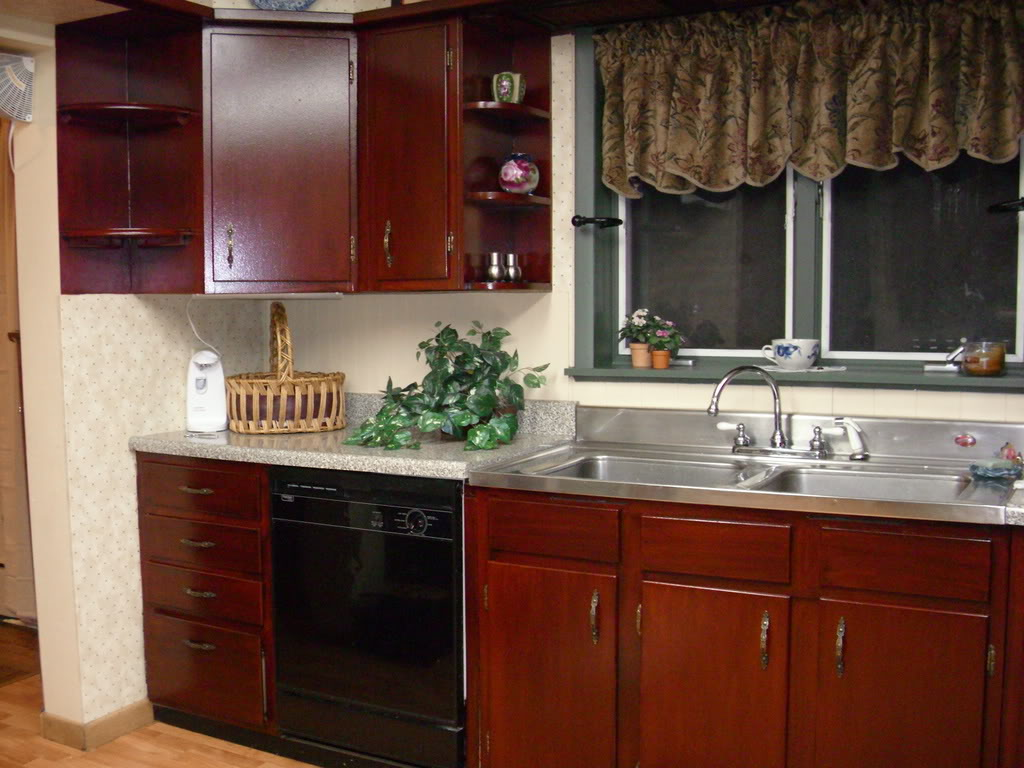 Permalink to Restaining Kitchen Cabinets