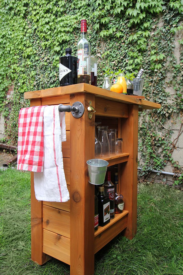 Portable outdoor bar designs makes a perfect addition ... on Bar Patio Ideas id=30876
