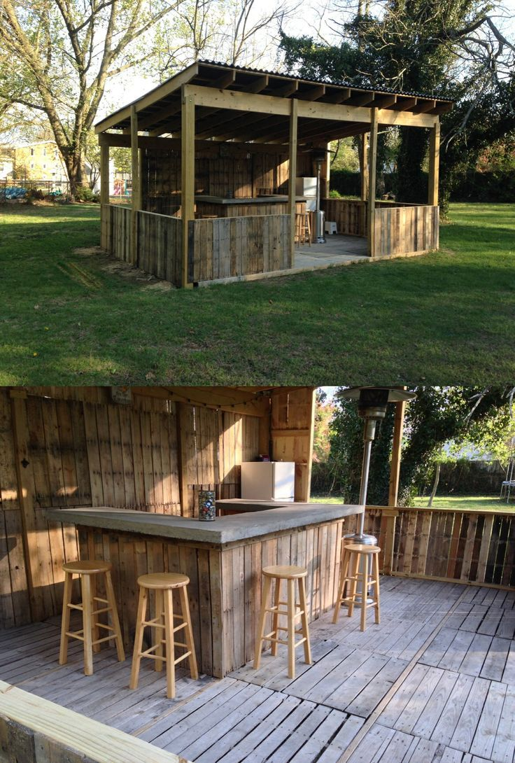 Portable outdoor bar designs makes a perfect addition ... on Small Backyard Bar Ideas id=26276