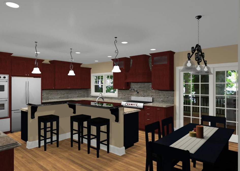 kitchen with l shaped island l shaped kitchen layouts with island increasingly 8755