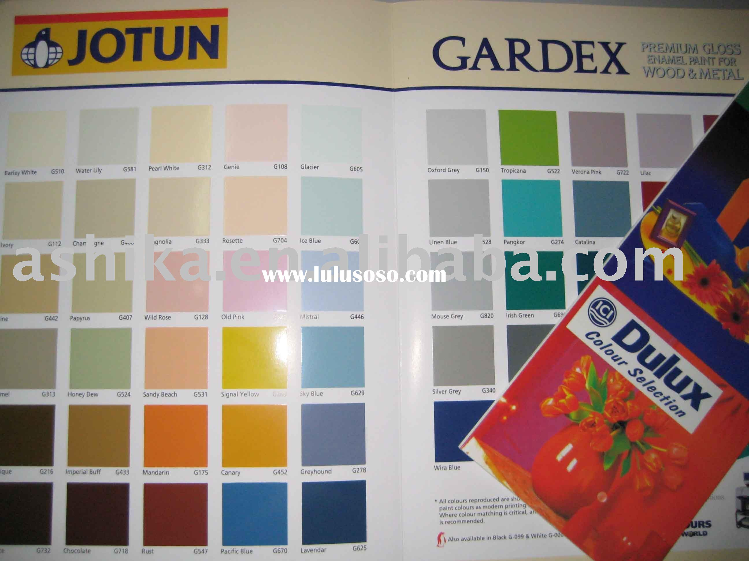 Asian Paints Colour Shades Booklet Coloring Page