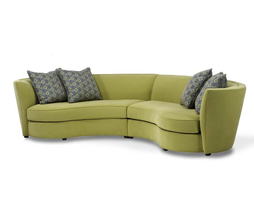 Modern Curved Sectional Sofa Wonderful